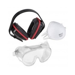 KIT PROTECTION MASQUE/LUNETTE/CASQUE