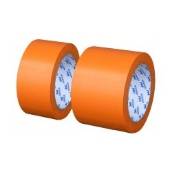 RUBAN ADHESIF ISOLANT ORANGE PVC 48MM