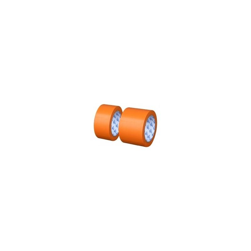 RUBAN ADHESIF ISOLANT ORANGE PVC 48MM