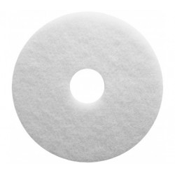 PAD POLISSAGE BLANC FIBRE POLYESTER 406MM