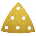TRIANGLE ABRASIF 95X95MM GRAIN 40