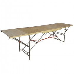 TABLE A TAPISSER 3X1M