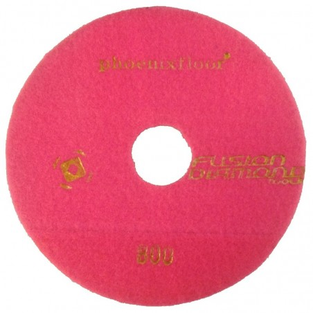 PAD RESINE N°6 ROSE GRAIN 800 Ø220MM