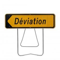 Location panneau déviation