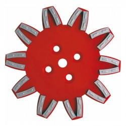 PLATEAU STAR ROUGE 250MM