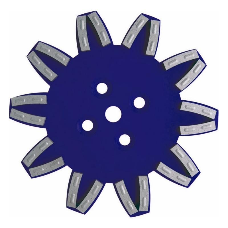 PLATEAU STAR BLEU 250MM