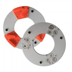 PLATEAU MAGNETIQUE Ø200MM 3 SEGMENTS DIAMANT