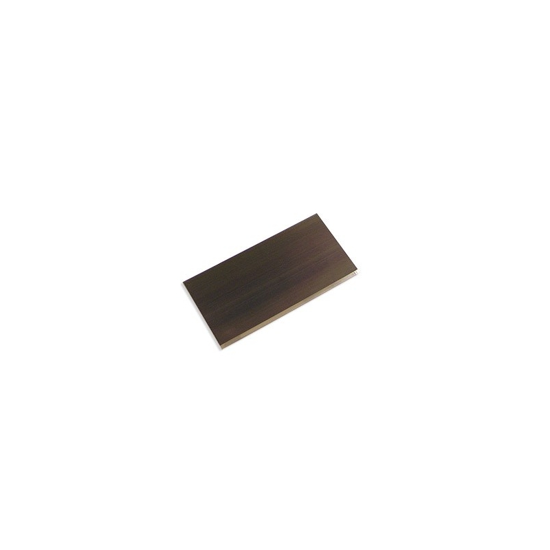 LAME  ACIER TREMPÉ 76x203x1,6MM