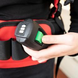 location aspirateur dorsal a batterie