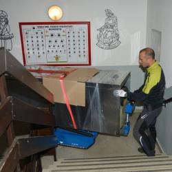 location monte escalier sur chenilles