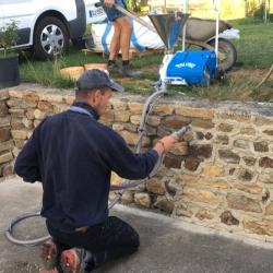 Location jointoyeuse 220V pour jointage murs en pierre