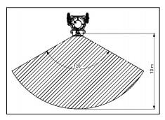 Zone de brumisation du brumisateur d'air Dumatos