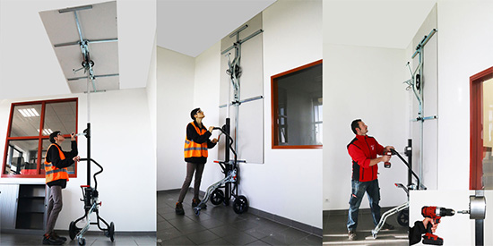 Lève plaque murs et plafond