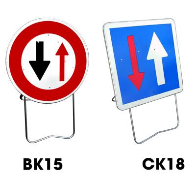 Location panneaux BK15 et CK18